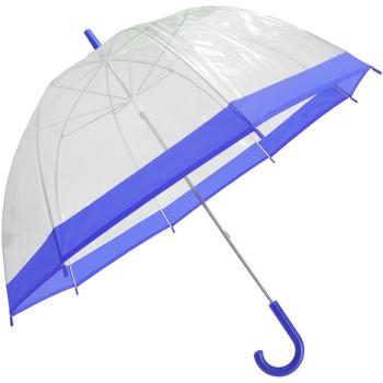 Accessoires textile Parapluies Universal Textiles  Transparent/Bleu
