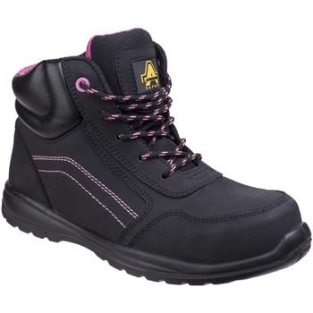 Chaussures Femme Chaussures de travail Amblers  Noir