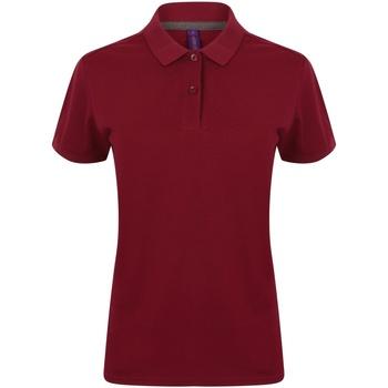 Vêtements Femme Polos manches courtes Henbury HB102 Bordeaux