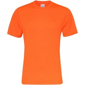 Vêtements Homme T-shirts manches courtes Awdis JC020 Orange électrique