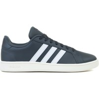 Chaussures Homme Baskets basses adidas Originals Grand Court Base Blanc,Graphite