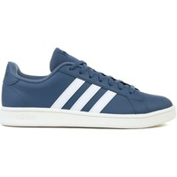 Chaussures Homme Baskets basses adidas Originals Grand Court Base Blanc,Bleu