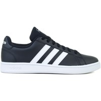 Chaussures Homme Baskets basses adidas Originals Grand Court Base Blanc,Noir