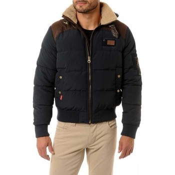 Vêtements Homme Doudounes Redskins Doudoune Silmit Dark Blue/Brown (rft)
