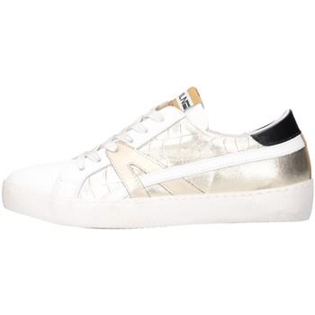 Chaussures Femme Baskets basses Meline KUC 1362 Blanc / platine