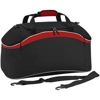 Sacs Sacs de sport Bagbase BG572 Noir/Rouge/Blanc
