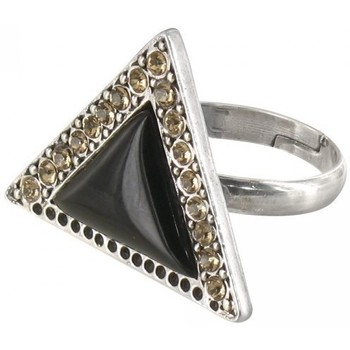 Bijoux Franck herval petite bague triangulaire collection 'charleston' 19--60413
