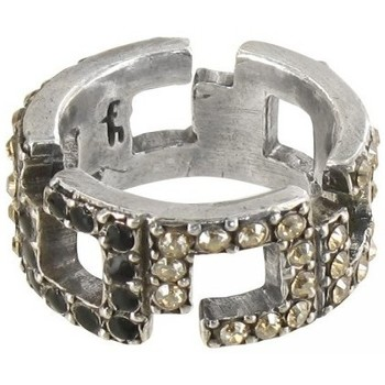 Bijoux Franck Herval Bague multistrass  collection 'Charleston' 19--60410 Noir 350x350