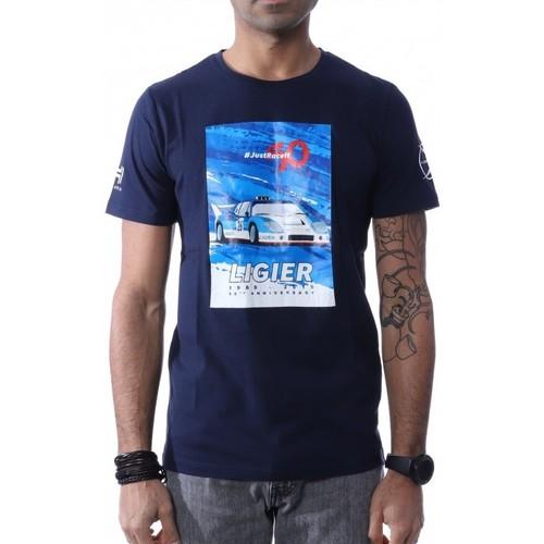 Vêtements Homme T-shirts manches courtes Hungaria H-748080-60 Bleu
