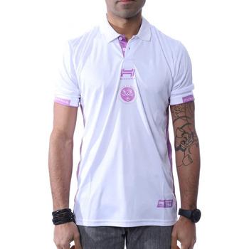 Vêtements Homme Polos manches courtes Hungaria H-753850-60 Blanc