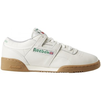 Chaussures Baskets basses Reebok Sport Workout Clean MU Blanc