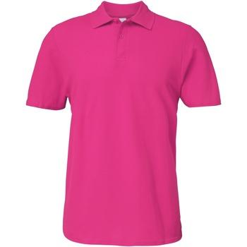 Vêtements Homme Polos manches courtes Gildan Softstyle Rose foncé