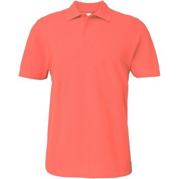 Vêtements Homme Polos manches courtes Gildan 64800 Orange foncé