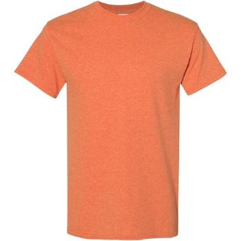 Vêtements Homme T-shirts manches courtes Gildan Heavy Orange foncé