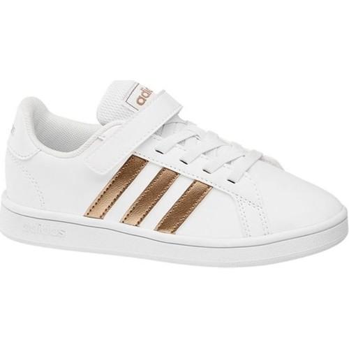 Chaussures Fille Baskets basses adidas Originals ef0107 blanc