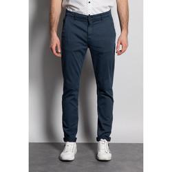 Vêtements Homme Chinos / Carrots Deeluxe Pantalon MILANO Navy