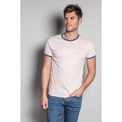 Vêtements Homme T-shirts manches courtes Deeluxe T-Shirt HYLTER White
