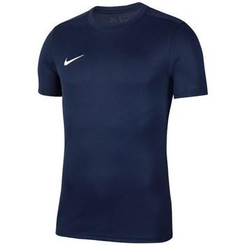 Vêtements Homme T-shirts manches courtes Nike Park Vii Bleu marine