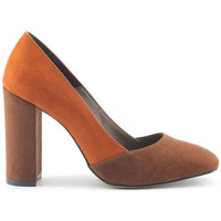 Chaussures Femme Escarpins Made In Italia - giada Marron