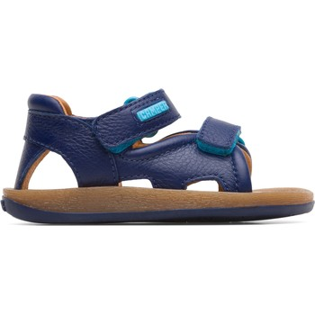 Chaussures Garçon Sandales sport Camper Sandales cuir Bicho bleu