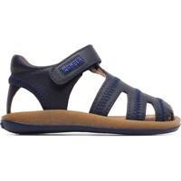 Chaussures Garçon Sandales et Nu-pieds Camper Sandales cuir Bicho bleu