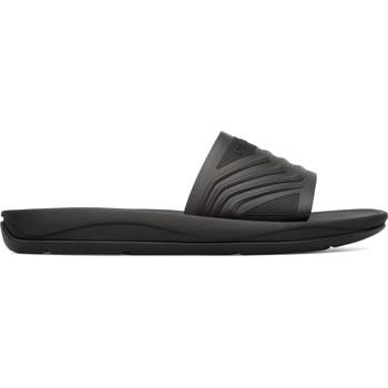 Chaussures Femme Claquettes Camper Match K201002-003 Sandales Femme noir