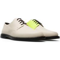 Chaussures Femme Derbies Camper Derbies à lacets cuir TWS beige