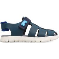 Chaussures Garçon Sandales et Nu-pieds Camper Sandales cuir Oruga Sandal bleu