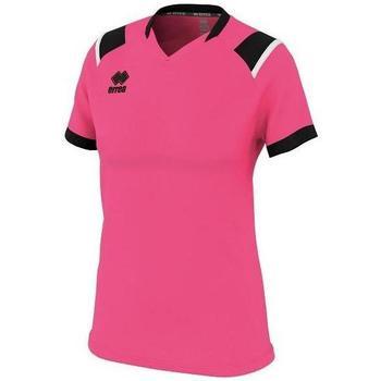 Vêtements Femme T-shirts manches courtes Errea Maillot femme  lenny vert/noir/blanc