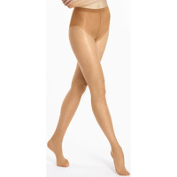 Sous-vêtements Femme Collants & bas Le Bourget Collant satiné  ventre plat 12D Bronzé