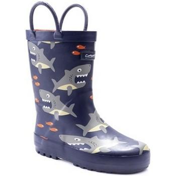 Chaussures Garçon Bottes de pluie Cotswold Puddle Bleu / girs