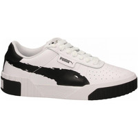 Chaussures Femme Fitness / Training Puma CALI BRUSHED WN'S black--white