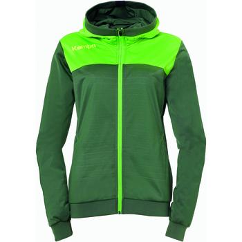 Vêtements Femme Vestes de survêtement Kempa Veste à capuche  Femme Emotion 2.0 vert