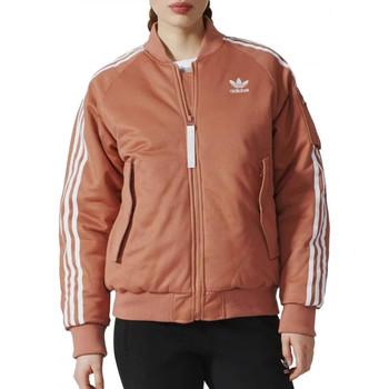 Vêtements Femme Vestes de survêtement adidas Originals BQ7468 Orange