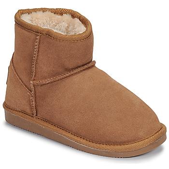 Chaussures Fille Boots Les Tropéziennes par M Belarbi FLOCON CAMEL