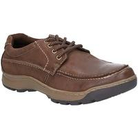 Chaussures Homme Derbies Hush puppies  Marron