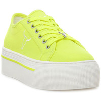Chaussures Femme Baskets basses Windsor Smith RUBY CANVAS NEON YELLOW Giallo