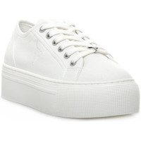 Chaussures Femme Baskets basses Windsor Smith RUBY CANVAS WHITE Bianco