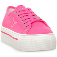 Chaussures Femme Baskets basses Windsor Smith RUBY CANVAS NEON PINK Rosa
