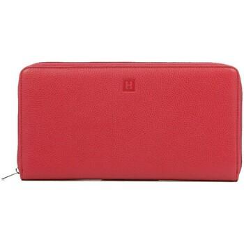 Sacs Femme Portefeuilles Hexagona Compagnon  en cuir ref_40533 Rouge 24*12*2 rouge
