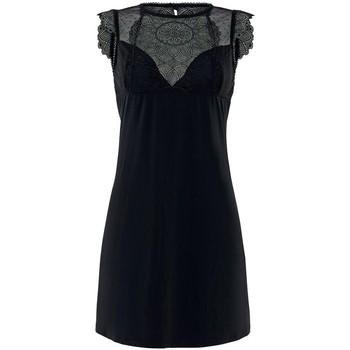 Vêtements Femme Pyjamas / Chemises de nuit Pommpoire Nuisette noir Insolente Noir