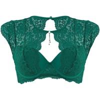 Sous-vêtements Femme Rembourrés Pommpoire Soutien-gorge ampliforme coque moulée vert Feu Aux Poudres Vert