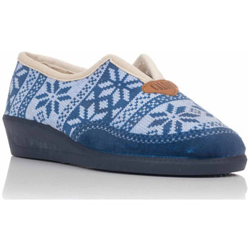 Chaussures Femme Chaussons Calsán 450 INVIERNO Azul