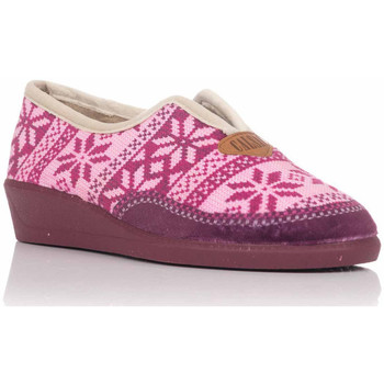 Chaussures Femme Chaussons Calsán 450 INVIERNO Burdeos