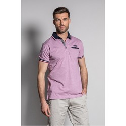 Vêtements Homme Polos manches courtes Deeluxe Polo DREXLER Red