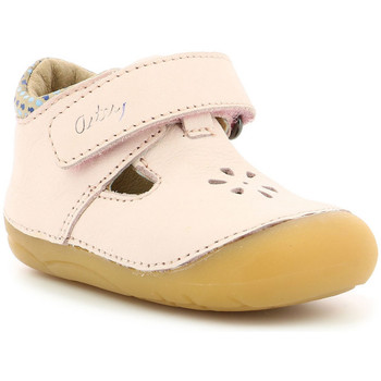 Chaussures Enfant Ballerines / babies Aster Kumbo ROSE CLAIR