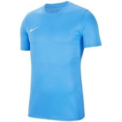 Vêtements Garçon T-shirts manches courtes Nike JR Dry Park Vii Bleu