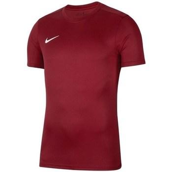 Vêtements Garçon T-shirts manches courtes Nike JR Dry Park Vii Bordeaux