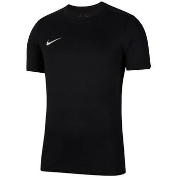 Vêtements Garçon T-shirts manches courtes Nike JR Dry Park Vii Noir