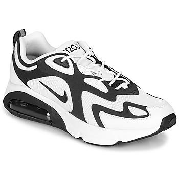 Chaussures Homme Baskets basses Nike AIR MAX 200 Blanc / Noir
